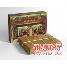 2007年1000克茶王青砖