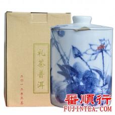 2012年福今500克礼茶普洱(熟茶)