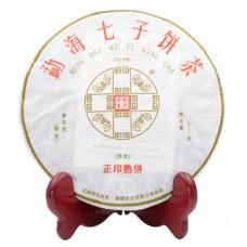 2019年番顺茶业357克正印熟饼