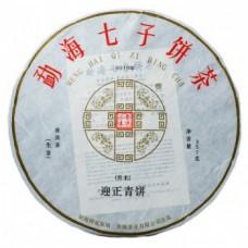 2019年番顺茶业357克迎正青饼